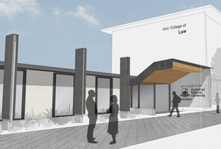 Artist's impressions of new entrance.