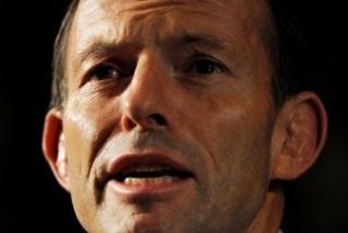 Tony Abbott (Pic: Torsten Blackwood, AFP)