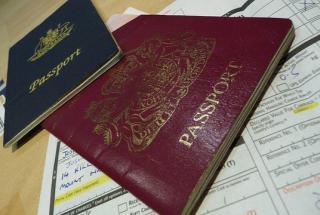 Two passports (Image: Flickr John Barker)