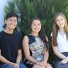 2014 Summer Scholars: Weng Kin San, Joy Twemlow and Sara Anicic.