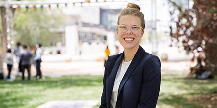 Hannah Dawson, 2019 University Medallist