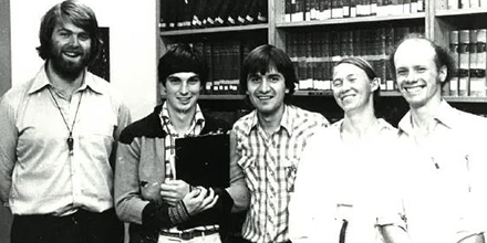 1981 ANU Jessup moot team