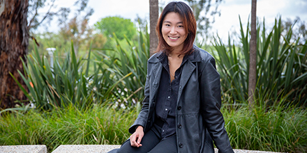 Esther Kwon, a Bachelor of Laws (Hons)/Visual Arts student