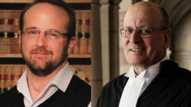 Professor Mark Nolan and Judge Osborn