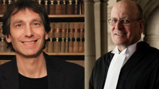 Associate Professor Matthew Zagor and Judge Osborn