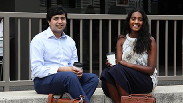 Prashant Kelshiker and Sonali Fernando