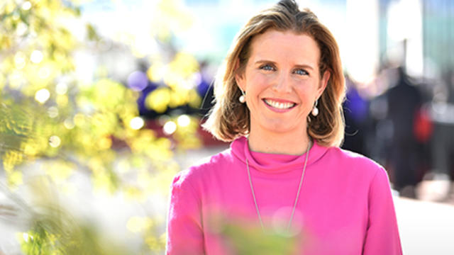 CEO of the Sony Foundation, Sophie Ryan.