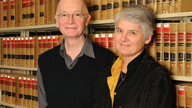 Professors Peter Cane and Jane Stapleton