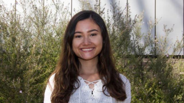 Image shows Yasmin Poole smiling