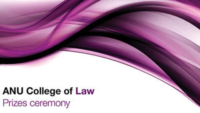 ANU Prizes Ceremony 2019