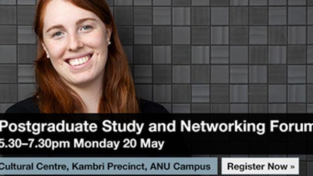Postgraduate Study & Networking Forum