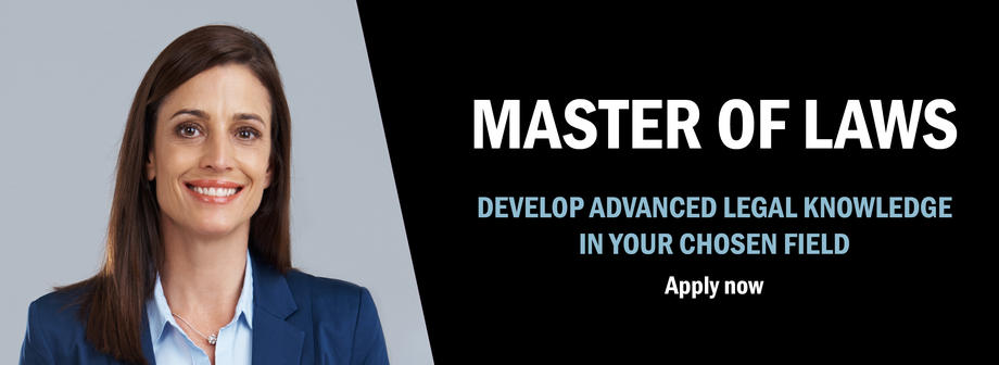 Master of Laws - Apply now