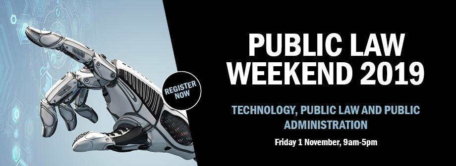 Public Law Weekend 2019