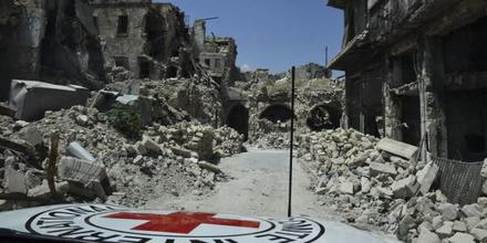 Conflict in Syria: Finding hope among the ruins