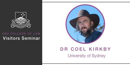 Coel Kirkby seminar