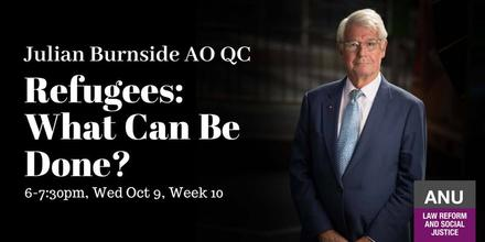 Julian Burnside - Refugees: What can be done?