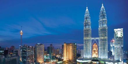 Skyline of Malaysia