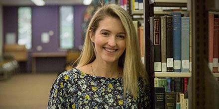 Emma Jagot, 2018 winner of the Baker McKenzie Prize for Intellectual Property.