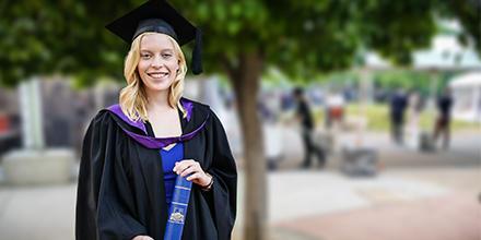 Grace Bramwell, ANU Bachelor of Laws (Hons) graduand