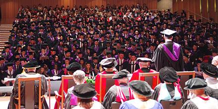 ANU College of Law December 2018 graduation.