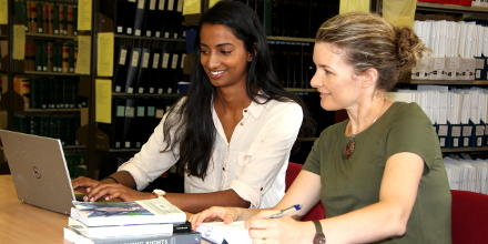 Jyoti Goonawardena and Amelia Simpson