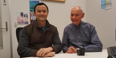 Daniel Kang & solicitor Michael Sasella