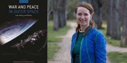 Dr Cassandra Steer, ANU space law expert