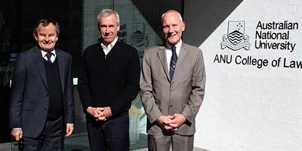 Dr William Boothby, Professor Michael Schmitt and Professor Wolff Heintschel von Heinegg