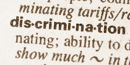 Discrimination in a dictionary