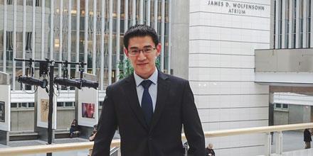 Alumnus Edmund Bao wins Permanent Court of Arbitration