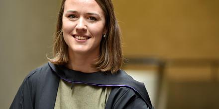 ANU Law University Medallist, Adrienne Elmitt.