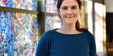 Photo of Rebecca Lucas, who is the 2016 ANU College of Law World Bank Scholar.