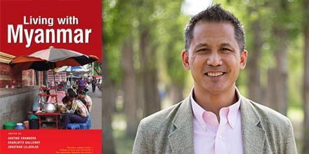 Dr Jonathan Liljeblad, co-editor of 'Living with Myanmar'