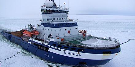 Finnish icebreaker Nordica
