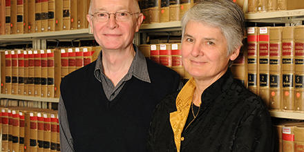 ANU Law Professors Peter Cane and Jane Stapleton