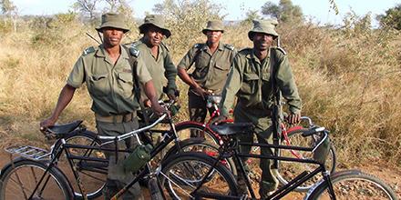 Rangers at Kruger Park, South Africa