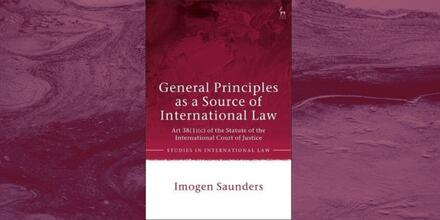 Book Launch_General Principles as a Source of International Law