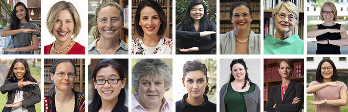 Inspiring Women of ANU Law