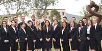 Image shows the 2018 Team Australia international law students