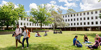 ANU Law lawns