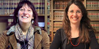 Image shows academics Liz Curran and Pamela Taylor-Barnett