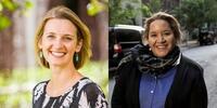 Image: Dr Gabrielle Appleby and Professor Megan Davis