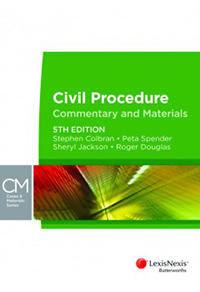 Spender, Civil Procedure