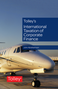 Tolley's International Taxation of Corporaet Finance