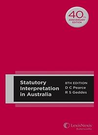 Statutory Interpretations in Australia