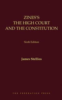 Zine's The High Court and the Constitution