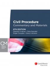 Spender Civil procedure commentary