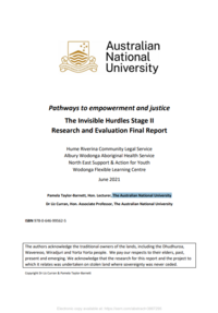 Pathways to empowerment and justice