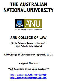 Post-Feminism in the Legal Academy