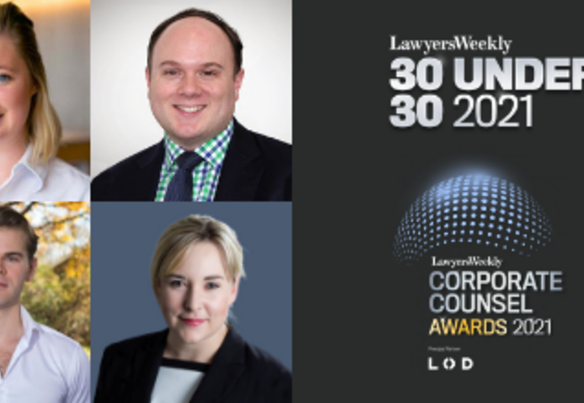 Lawyers Weekly Awards banner